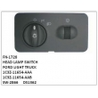 1C3Z-11654-AAA, 1C3Z-11654-AAB, SW-2866, DS1362 HEAD LAMP SWITCH, FN-1728 for FORD LIGHT TRUCK