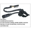 1245402044, COMBINATION SWITCH, FN-1029-5 for COUPE (C124); E-CLASS SALOON, ESTATE; KOMBI ESTATE; SALOON (W124); E-CLASS COVERTIBLE, COUPE