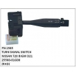 25560-01G00,TURN SIGNAL SWITCH,FN-1565 for NISSAN 720 BIGM D21