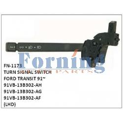 91VB-13B302-AH, 91VB-13B302-AG, 91VB-13B302-AF TURN SIGNAL SWITCH, FN-1173 for FORD TRANSIT 91~