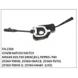 25560-T8900, 25560-06W10, 25560-T8903-3, 25560-04A60, 25560-T6701, COMBINATION SWITCH, FN-1580 for NISSAN E23,720 (NEW),B11,PATROL P40