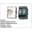 10404698, SW3820, POWER WINDOW SWITCH, FN-1150 for PONTIAC GRAND PRIX 97~02, PONTIAC...93~02