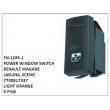 7700817337, LIGHT ORANGE, POWER WINDOW SWITCH, FN-1295-1 for RENAULT MAGANE, LAGUNA, SCENIC