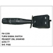 6253.77, TURN SIGNAL SWITCH, FN-1235 for PEUGEOT 206, SAMAND