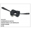 25560-Y02G0, 036-164-J1 (CADERON), COMBINATION SWITCH, FN-1575 for NISSAN TSURU III,GS NEGRA,B13