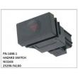 25290-F4100 HAZARD SWITCH,FN-1488-1 for NISSAN
