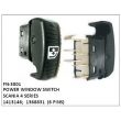 1413146, 1368831, POWER WINDOW SWITCH, FN-3001 for SCANIA 4 SERIES