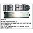 20877629, 25952650, 65121052A9106, JG0508, 5487443, 5487444, MASTER POWER WINDOW SWITCH, FN-1110 for CHEVROLET SILVERADO 07~08, GMC SIERRA 07~08, CADILLAC CTS 09
