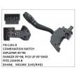 F5TZ-13K359-B, DS-604, SW1093 COMBINATION SWITCH, FN-1181-8 for EXPLORER 1995~1998, RANGER 1995~1998, PICK UP 1995~2003