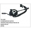 84310-25110, COMBINATION SWITCH, FN-1485 for TOYOTA DYNA,RINO,DYNA BU 30