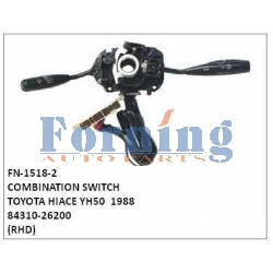 84310-26200, COMBINATION SWITCH, FN-1518-2 for TOYOTA HIACE YH50  1988