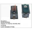 1578704, LIGHT ORANGE, WIPER BUTTON, FN-1076-1 for VOLVO  F7, F10,F12, F16 N10, N12