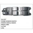 84820-12480,POWER WINDOW SWITCH,FN-1557 for TOYOTA COROLLA ZZE/ZZ