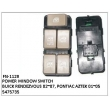 5475735,FRONT LEFT MULTI-BUTTON BLACK,GRAY OR BEIGE, FN-1129 for BUICK RENDEZVOUS 02~07, PONTIAC AZTEK 01~05