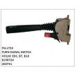 8158724, 202731, TURN SIGNAL SWITCH, FN-1723 for VOLVO EDC, B7, B10