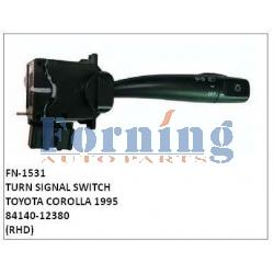 84140-12380, TURN SIGNAL SWITCH, FN-1531 for TOYOTA COROLLA 1995