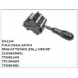 510034099001, 7700822445, 7701046629, 7700839681, TURN SIGNAL SWITCH, FN-1294 for RENAULT, TWINGO (C06_) 1993/03~/