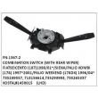735249557 713156614, 735293993 735265337 KOSTAL#1450015, COMBINATION SWITCH WITH REAR WIPER, FN-1367-2 for FIAT, SEICENTO (187)1998/01~/, SIENA/PALIO KOMBI (178) 1997~2001, PALIO WEEKEND (178DX) 1996/04~/