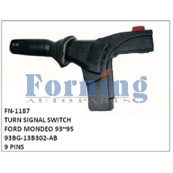 93BG-13B302-AB, TURN SIGNAL SWITCH, FN-1187 for FORD MONDEO 93~95