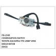 84310-8472B, COMBINATION SWITCH, FN-1543 for TOYOTA, DAIHATSU F70 1988~1992