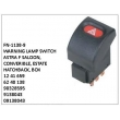 1241659,6240138,90328595, 9138043, 09138043, WARNING LAMP SWITCH, FN-1138-9 for ASTRA F SALOON, CONVERIBLE, ESTATE HATCHBACK, BOX