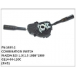 G114-66-120C,COMBINATION SWITCH,FN-1635-2 for MAZDA 323 1.3/1.5 1986~1989