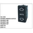 6552-V0, 6552-V1, POWER WINDOW SWITCH, FN-1259 for PEUGEOT 405, PEUGEOT 406, PEUGEOT 307