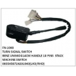 0035458724, 201043, TURN SIGNAL SWITCH, FN-1008 for BENZ UNIMOG