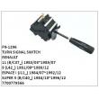 7700779566, TURN SIGNAL SWITCH, FN-1296 for RENAULT, 11 (B/C37_) 1983/03~1989/07, 9 (L42_) 1981/09~1989/12, ESPACE I (J11_) 1984/07~1992/12, SUPER 5 (B/C40_) 1984/10~1996/12