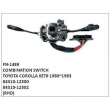 84310-12300, 84310-12302, COMBINATION SWITCH, FN-1489 for TOYOTA COROLLA KE70 1980~1983