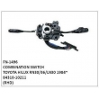 84310-10211, COMBINATION SWITCH, FN-1496 for TOYOTA HILUX RN30/36/LN30 1984~