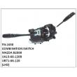 UA13-66-120B ,UB71-66-120,COMBINATION SWITCH,FN-1638 for MAZDA B2000