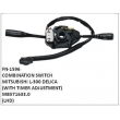 MB571633.0,COMBINATION SWITCH,FN-1596 for MITSUBISHI L-300 DELICA WITH TIMER ADJUSTMENT